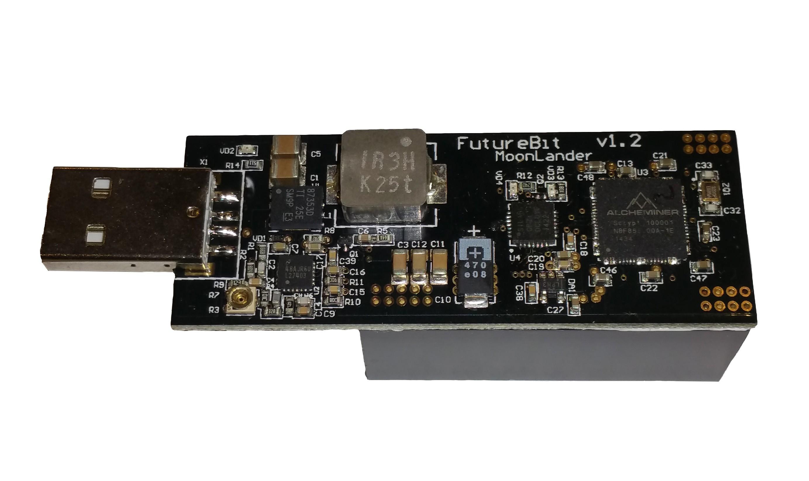 FutureBit Moonlander Scrypt Stickminer 300-1000kh/s - In Stock!