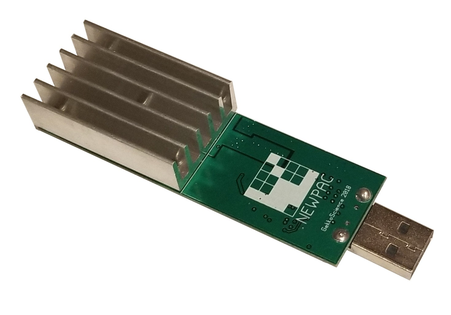 --NEW-- GekkoScience NewPac BM1387 Dual Chip Stickminer 28gh/s+.